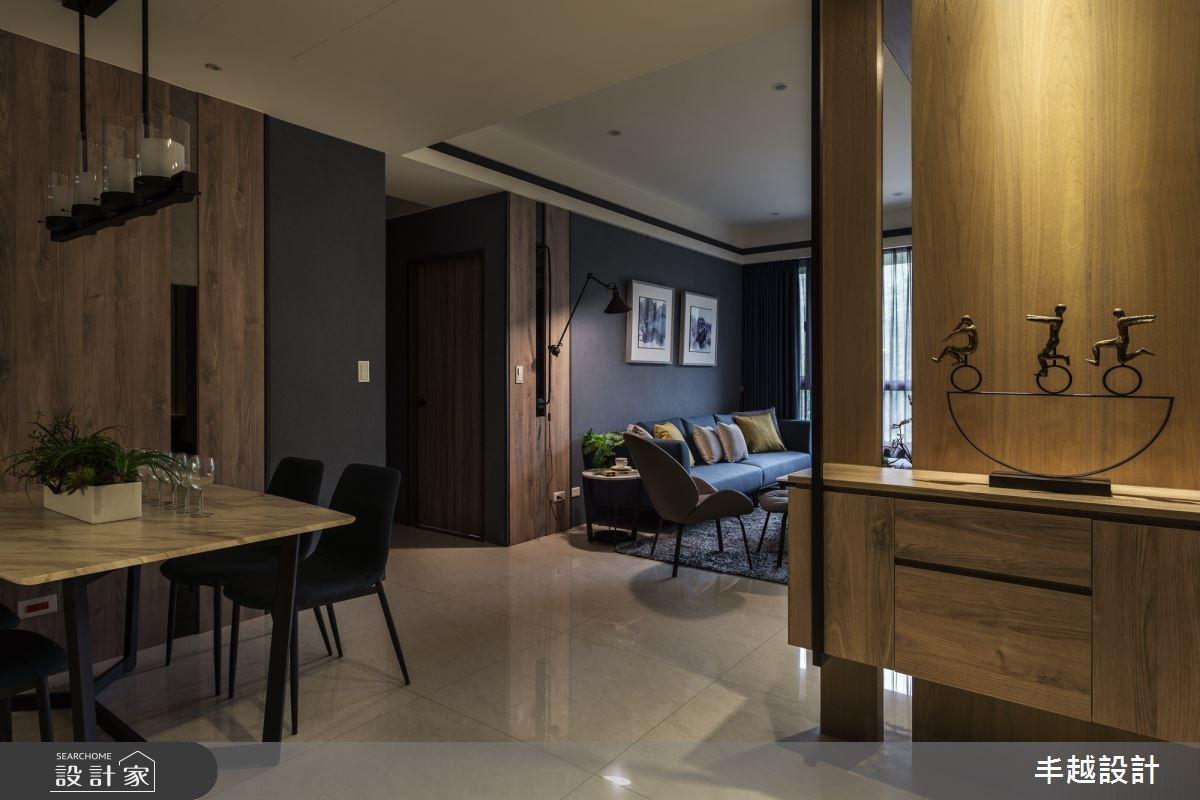 46坪新成屋(5年以下)_現代風餐廳案例圖片_丰越設計_丰越_37之1