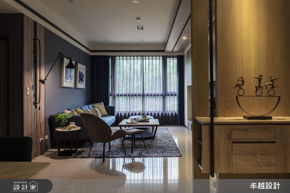 46坪新成屋(5年以下)_現代風客廳案例圖片_丰越設計_丰越_37之2
