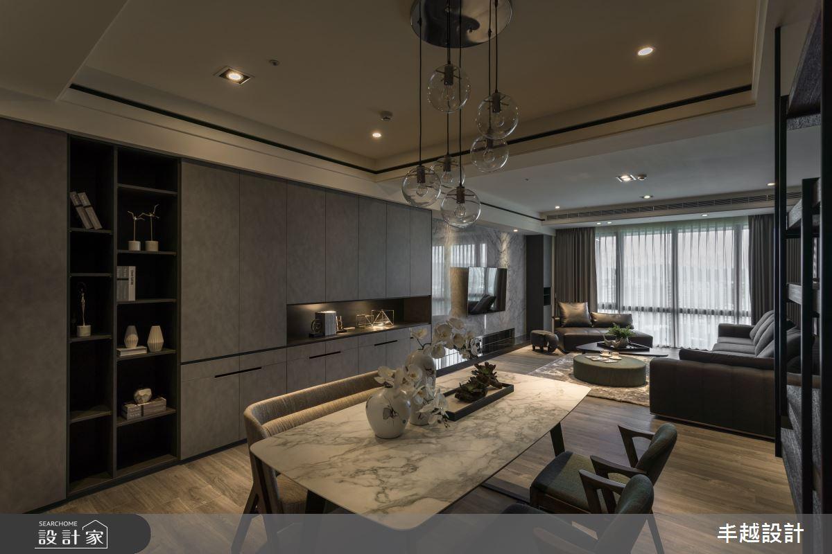 70坪新成屋(5年以下)_現代風餐廳案例圖片_丰越設計_丰越_41之3