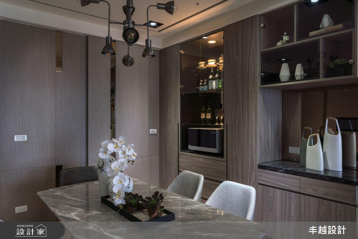 68坪新成屋(5年以下)_現代風餐廳案例圖片_丰越設計_丰越_42之4