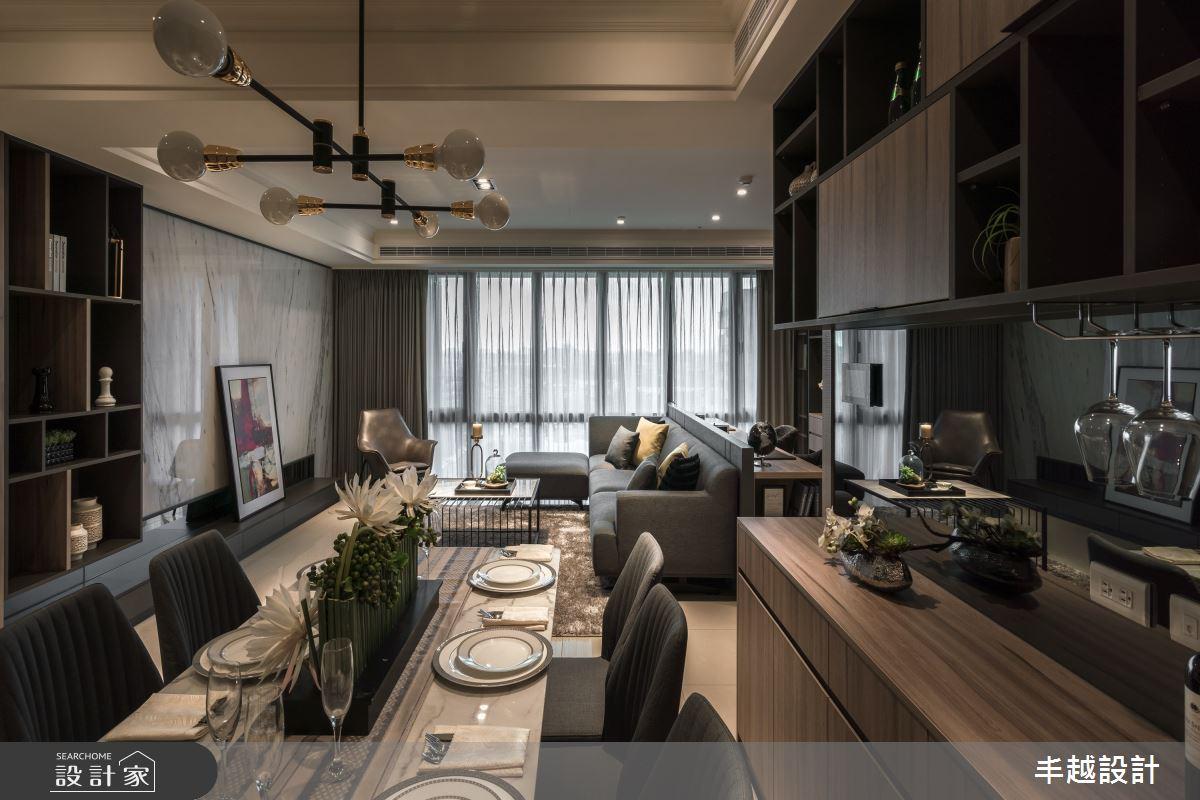 48坪新成屋(5年以下)_現代風餐廳案例圖片_丰越設計_丰越_45之2