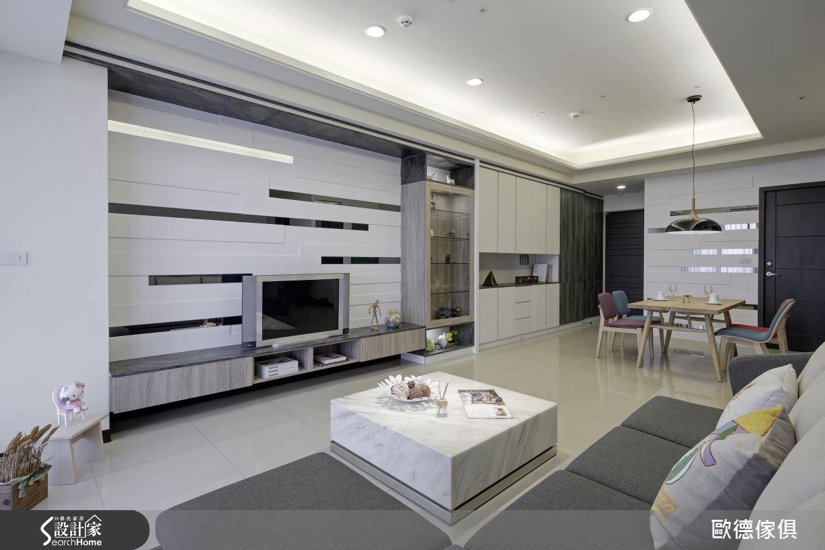40坪新成屋(5年以下)_現代風案例圖片_台灣歐德傢俱股份有限公司_歐德_01之1