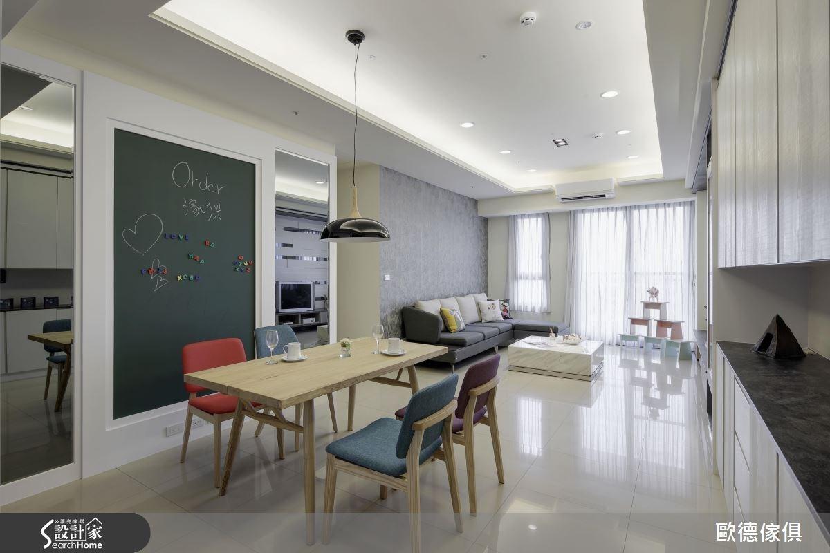40坪新成屋(5年以下)_現代風案例圖片_台灣歐德傢俱股份有限公司_歐德_01之3