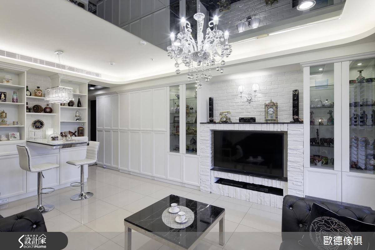25坪新成屋(5年以下)_美式風案例圖片_台灣歐德傢俱股份有限公司_歐德_02之1