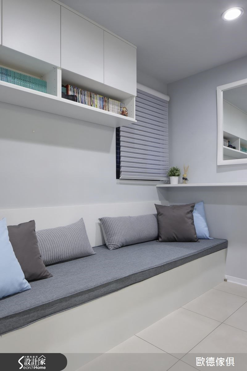 25坪新成屋(5年以下)_美式風案例圖片_台灣歐德傢俱股份有限公司_歐德_02之9