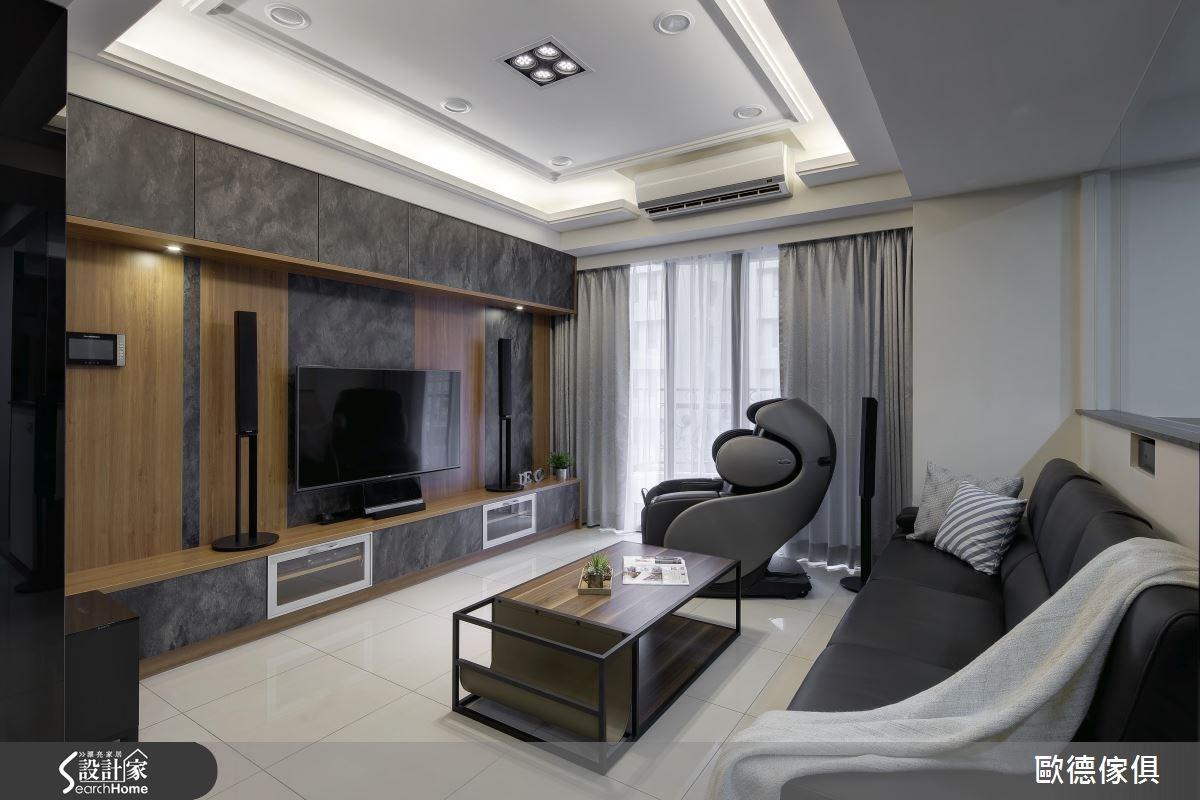 33坪新成屋(5年以下)_簡約風案例圖片_台灣歐德傢俱股份有限公司_歐德_04之2
