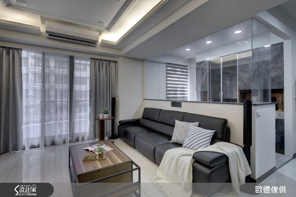 33坪新成屋(5年以下)_簡約風案例圖片_台灣歐德傢俱股份有限公司_歐德_04之3