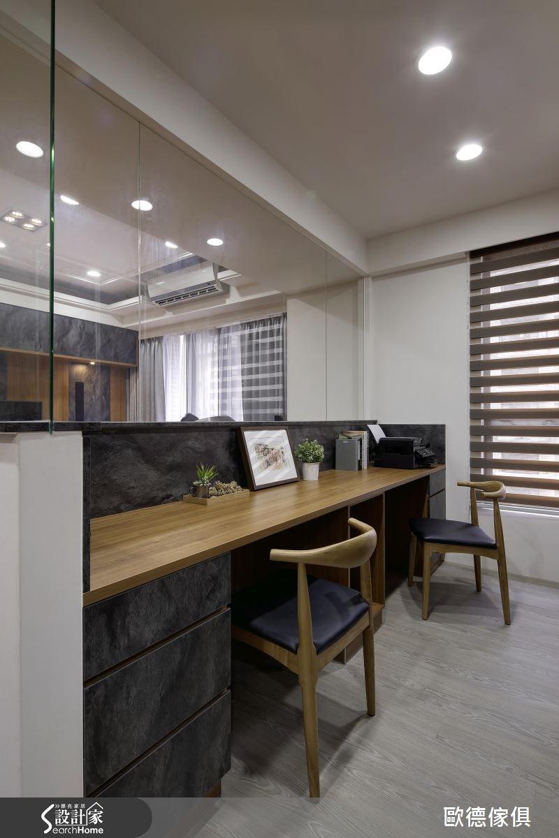 33坪新成屋(5年以下)_簡約風案例圖片_台灣歐德傢俱股份有限公司_歐德_04之4