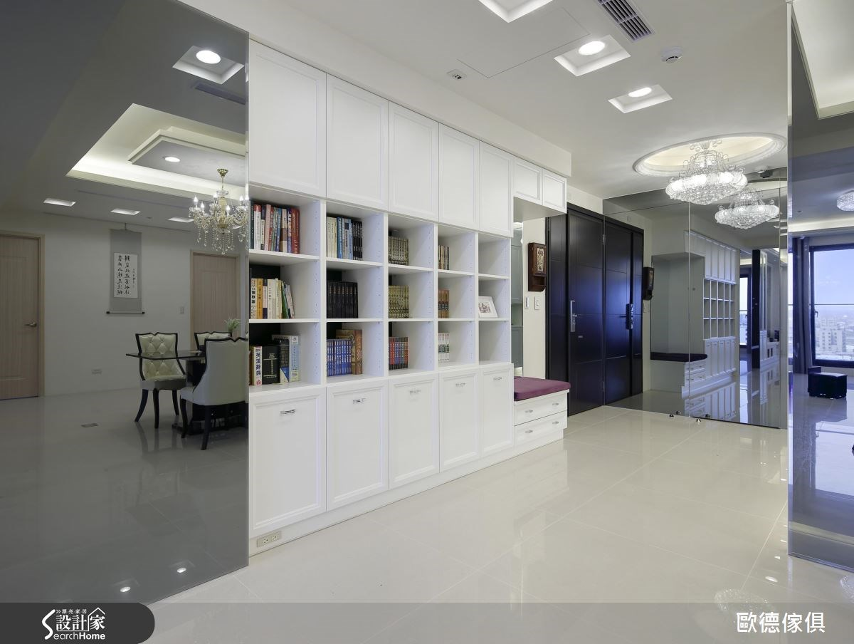 54坪新成屋(5年以下)_新古典案例圖片_台灣歐德傢俱股份有限公司_歐德_06之3