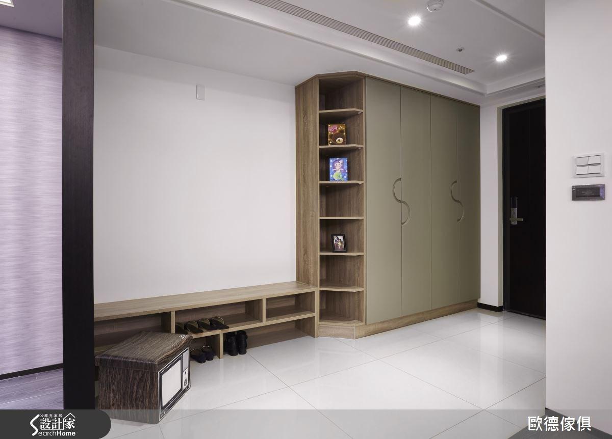 45坪新成屋(5年以下)_奢華風玄關案例圖片_台灣歐德傢俱股份有限公司_歐德_11之1