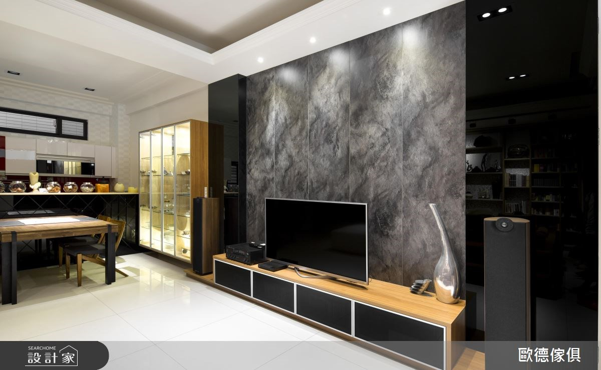 63坪新成屋(5年以下)_現代風客廳案例圖片_台灣歐德傢俱股份有限公司_歐德_14之3