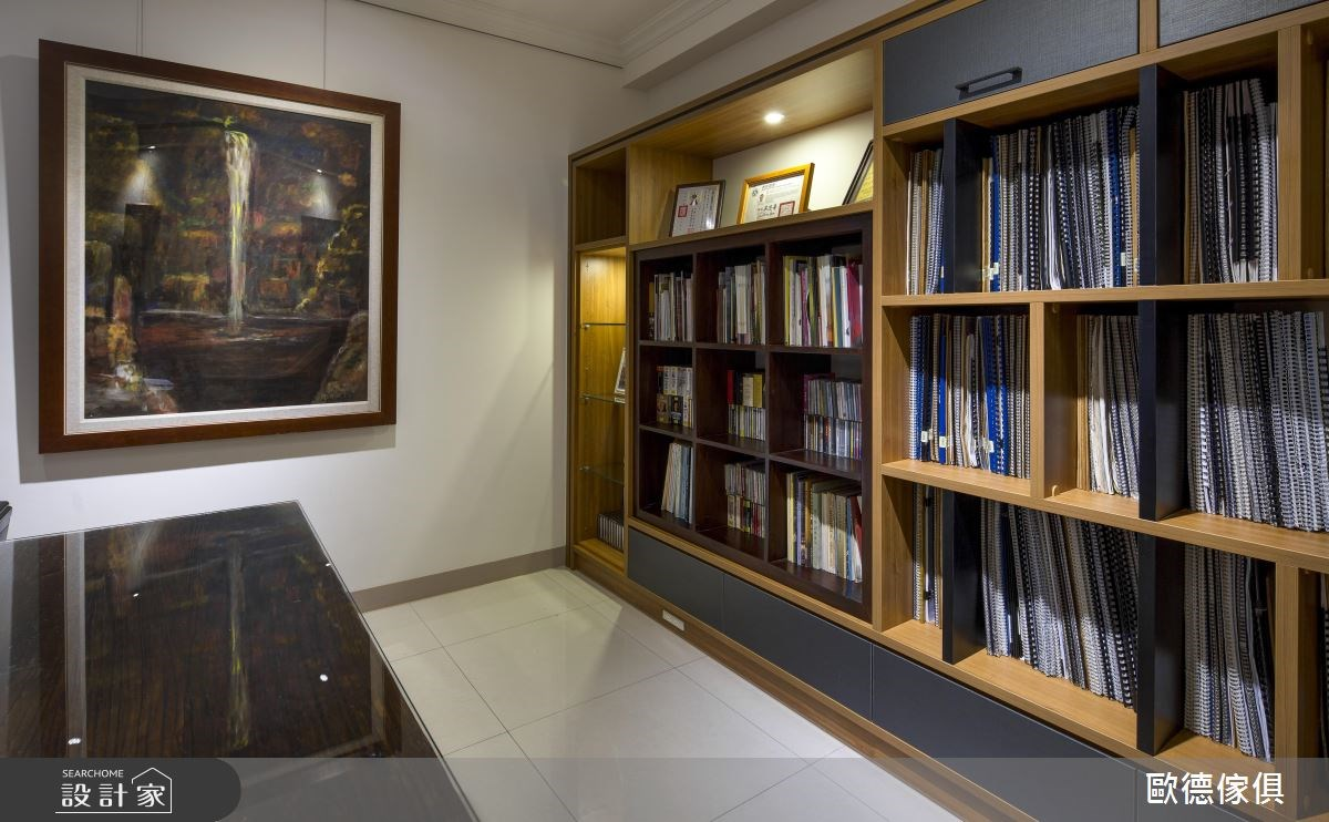 63坪新成屋(5年以下)_現代風書房案例圖片_台灣歐德傢俱股份有限公司_歐德_14之17