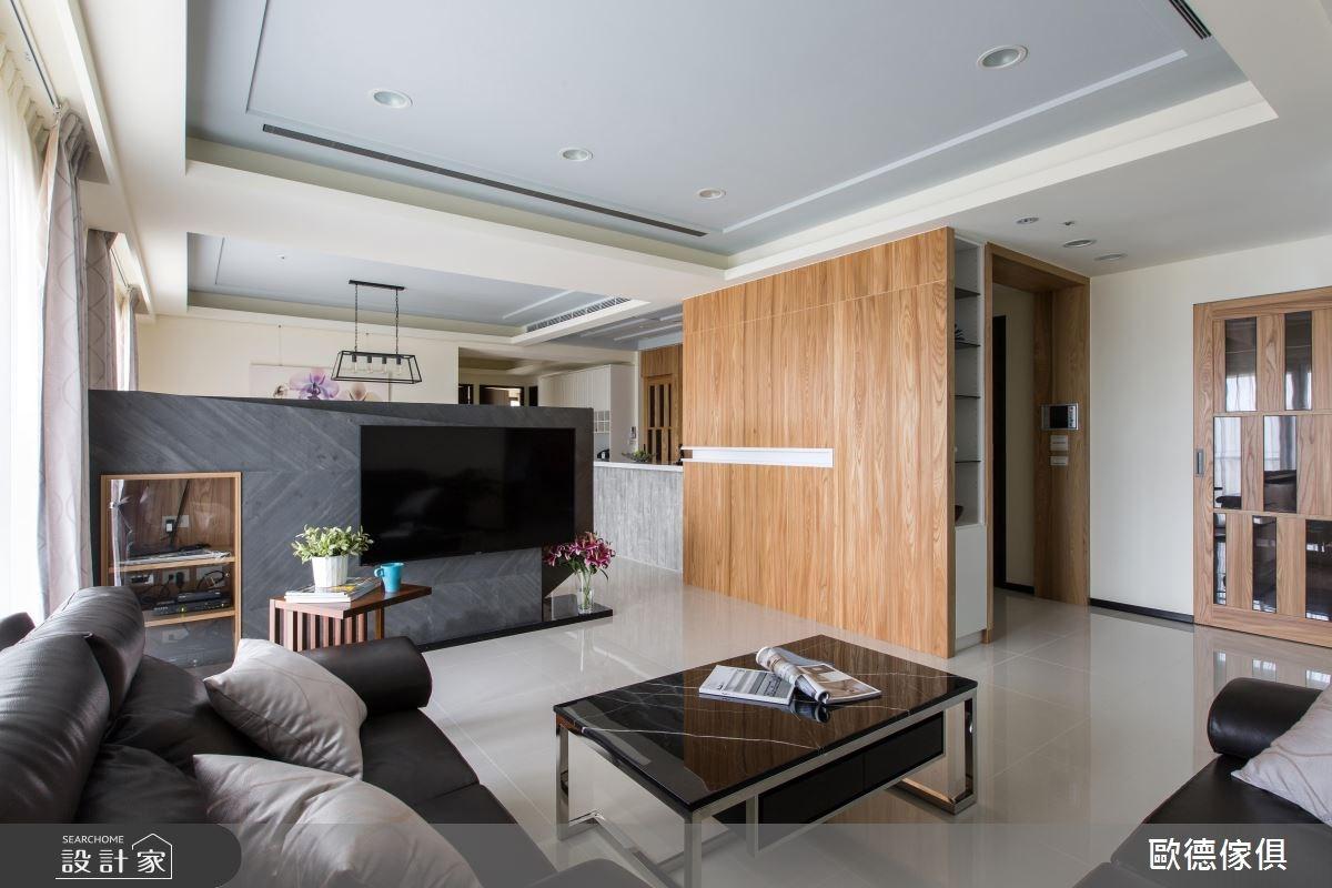 75坪新成屋(5年以下)_北歐風客廳案例圖片_台灣歐德傢俱股份有限公司_歐德_17之3