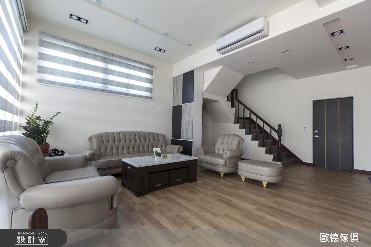 90坪新成屋(5年以下)_現代風客廳案例圖片_台灣歐德傢俱股份有限公司_歐德_27之3
