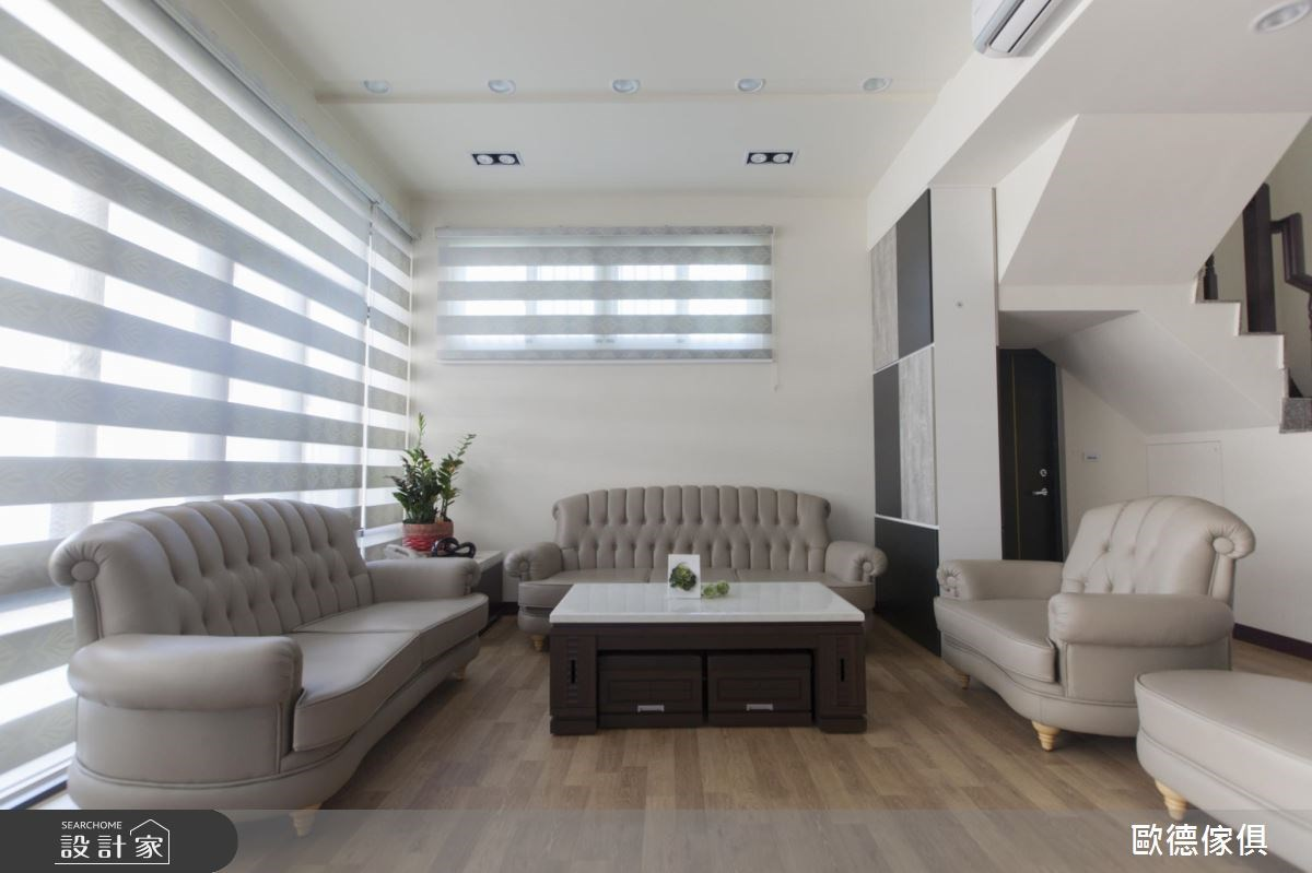 90坪新成屋(5年以下)_現代風客廳案例圖片_台灣歐德傢俱股份有限公司_歐德_27之4