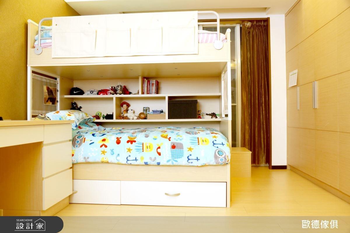 50坪新成屋(5年以下)_現代風兒童房兒童房案例圖片_台灣歐德傢俱股份有限公司_歐德_39之2