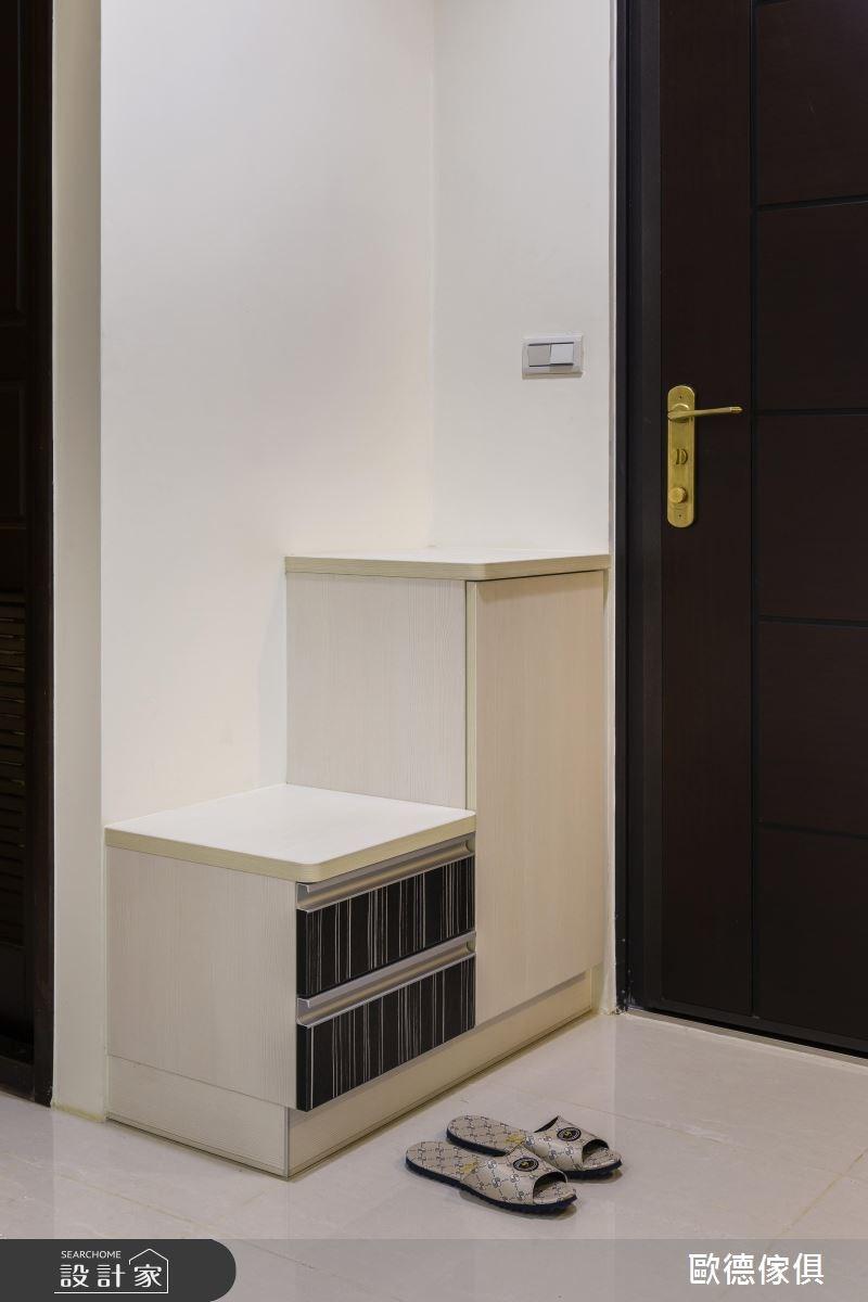 50坪新成屋(5年以下)_北歐風玄關案例圖片_台灣歐德傢俱股份有限公司_歐德_32之2