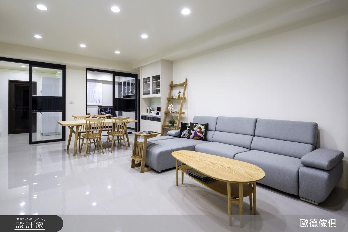 50坪新成屋(5年以下)_北歐風客廳案例圖片_台灣歐德傢俱股份有限公司_歐德_32之7