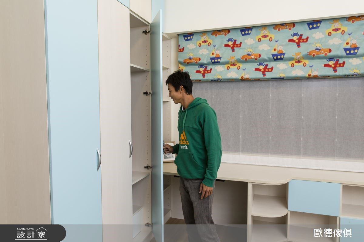 50坪新成屋(5年以下)_北歐風書房案例圖片_台灣歐德傢俱股份有限公司_歐德_32之25