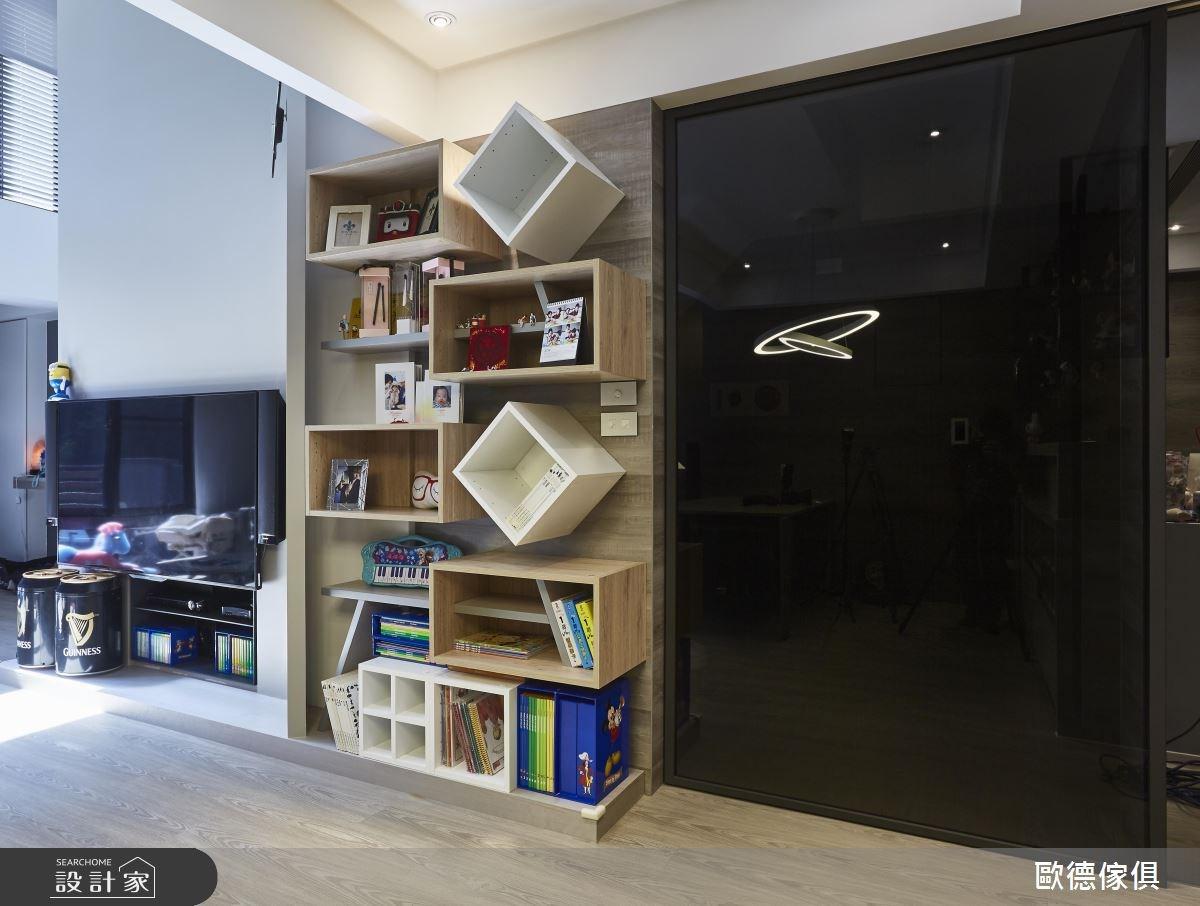 120坪新成屋(5年以下)_現代風客廳案例圖片_台灣歐德傢俱股份有限公司_歐德_33之1