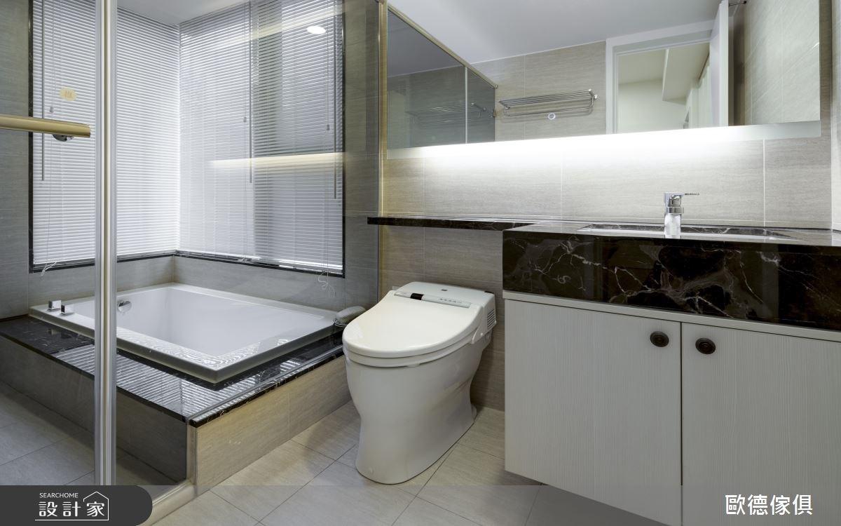 40坪新成屋(5年以下)_鄉村風浴室案例圖片_台灣歐德傢俱股份有限公司_歐德_36之27