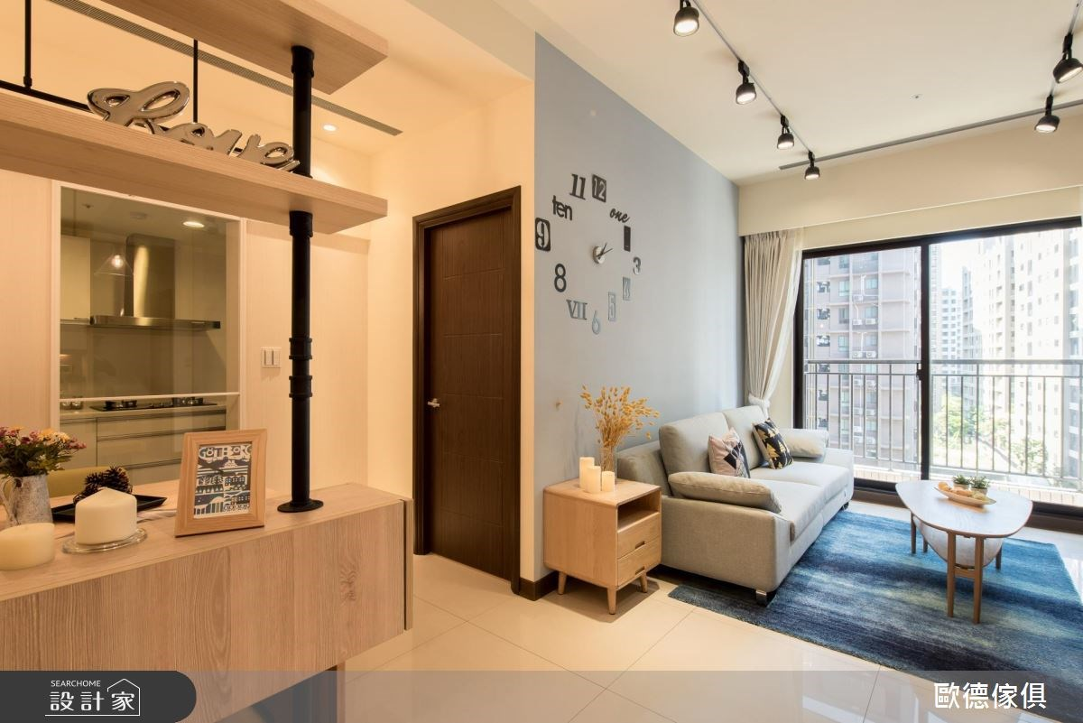 30坪新成屋(5年以下)_北歐風客廳案例圖片_台灣歐德傢俱股份有限公司_歐德_40之3