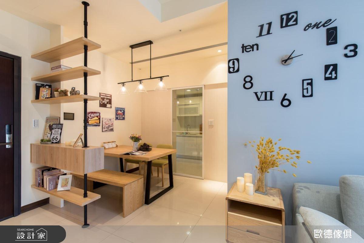 30坪新成屋(5年以下)_北歐風客廳案例圖片_台灣歐德傢俱股份有限公司_歐德_40之4
