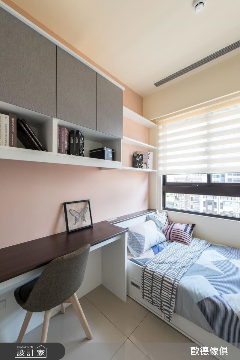 43坪新成屋(5年以下)_現代風臥室案例圖片_台灣歐德傢俱股份有限公司_歐德_43之6