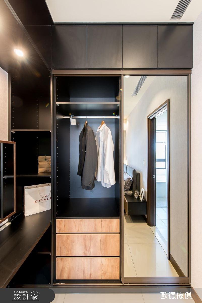 43坪新成屋(5年以下)_現代風更衣間案例圖片_台灣歐德傢俱股份有限公司_歐德_43之8