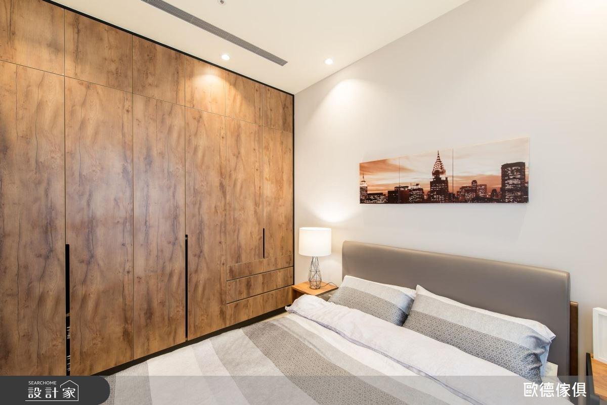 43坪新成屋(5年以下)_現代風臥室案例圖片_台灣歐德傢俱股份有限公司_歐德_43之9