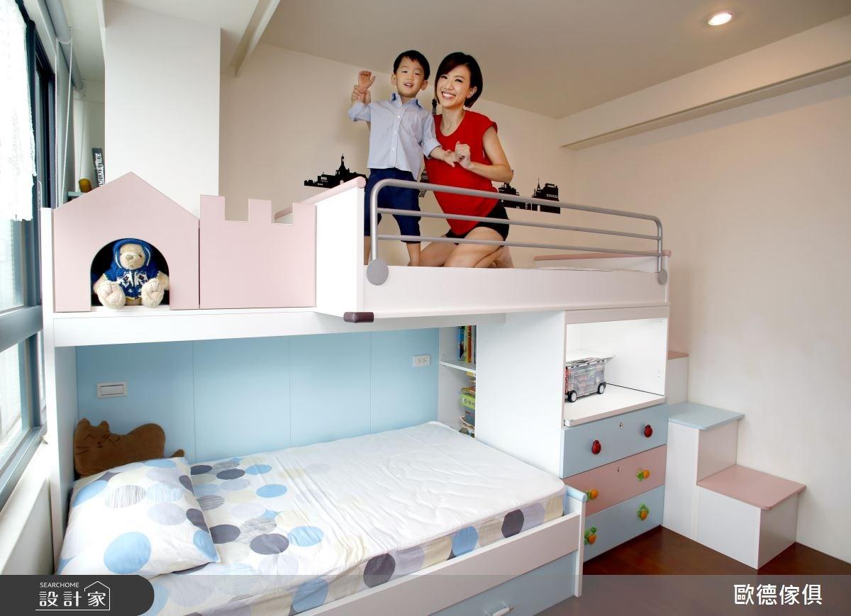 3坪預售屋_現代風兒童房兒童房案例圖片_台灣歐德傢俱股份有限公司_歐德_53之4