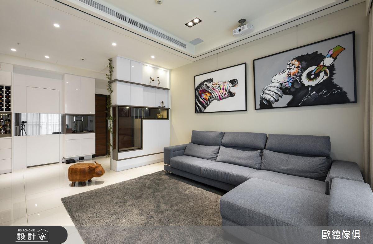 48坪預售屋_現代風客廳案例圖片_台灣歐德傢俱股份有限公司_歐德_55之3