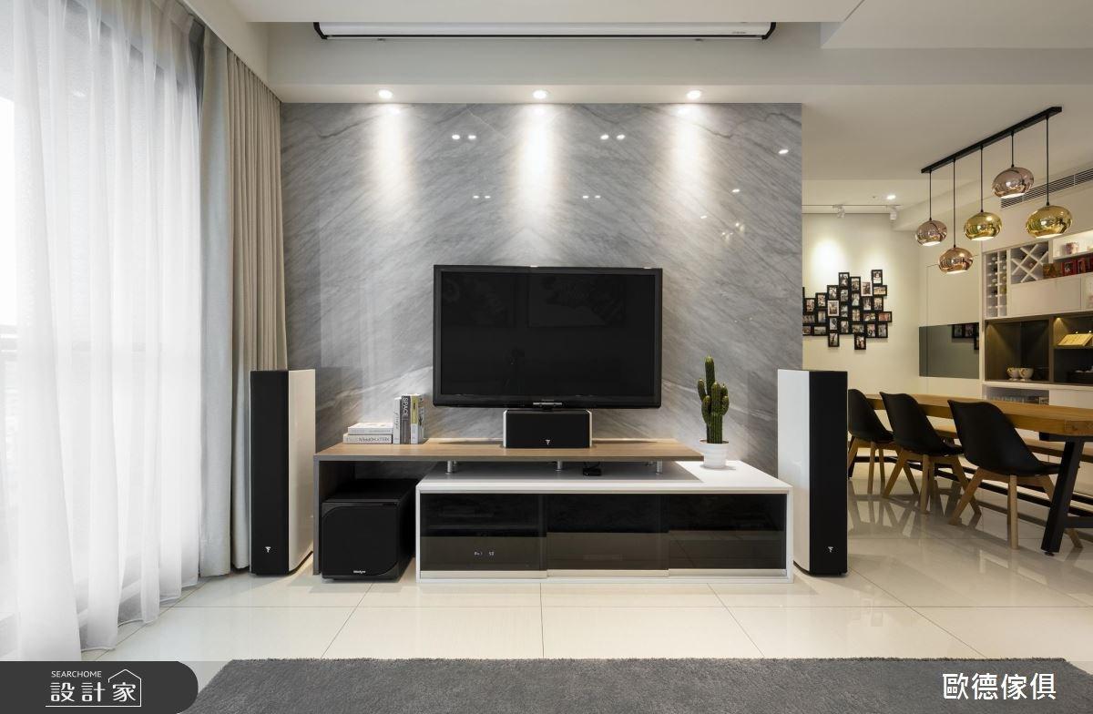 48坪預售屋_現代風客廳案例圖片_台灣歐德傢俱股份有限公司_歐德_55之4