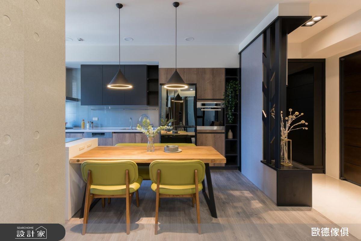 27坪預售屋_現代風餐廳廚房案例圖片_台灣歐德傢俱股份有限公司_歐德_61之6
