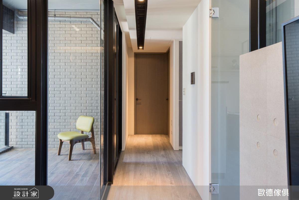 27坪預售屋_現代風走廊案例圖片_台灣歐德傢俱股份有限公司_歐德_61之19