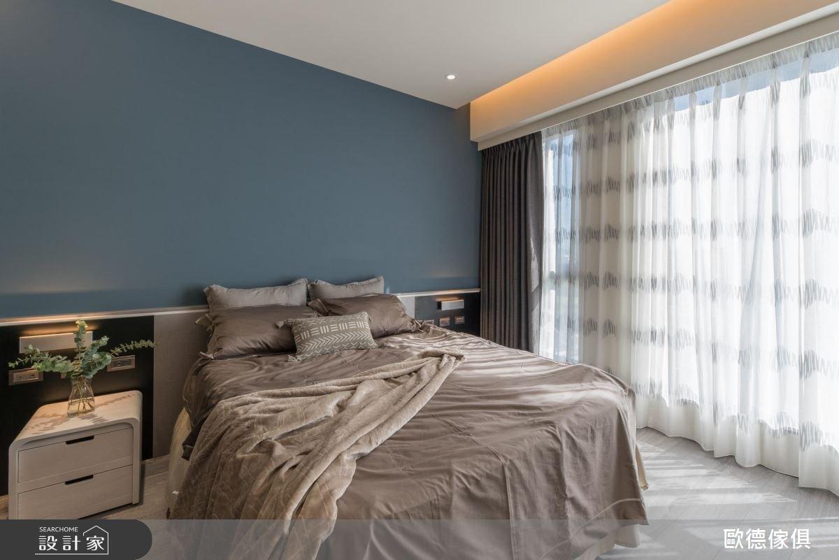 27坪預售屋_現代風臥室案例圖片_台灣歐德傢俱股份有限公司_歐德_61之20