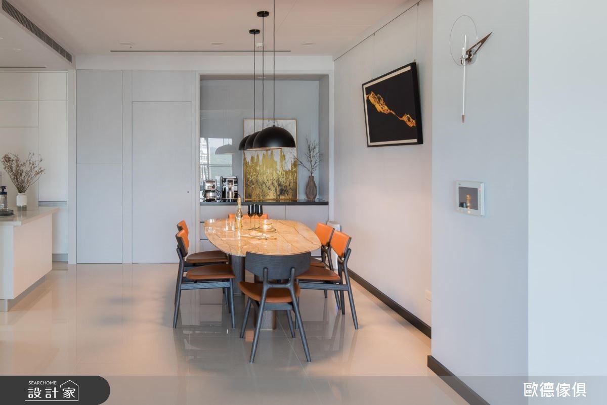 50坪預售屋_簡約風餐廳案例圖片_台灣歐德傢俱股份有限公司_歐德_64之9