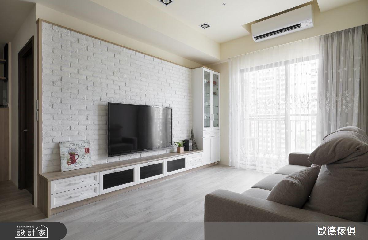 40坪新成屋(5年以下)_北歐風客廳案例圖片_台灣歐德傢俱股份有限公司_歐德_72之4
