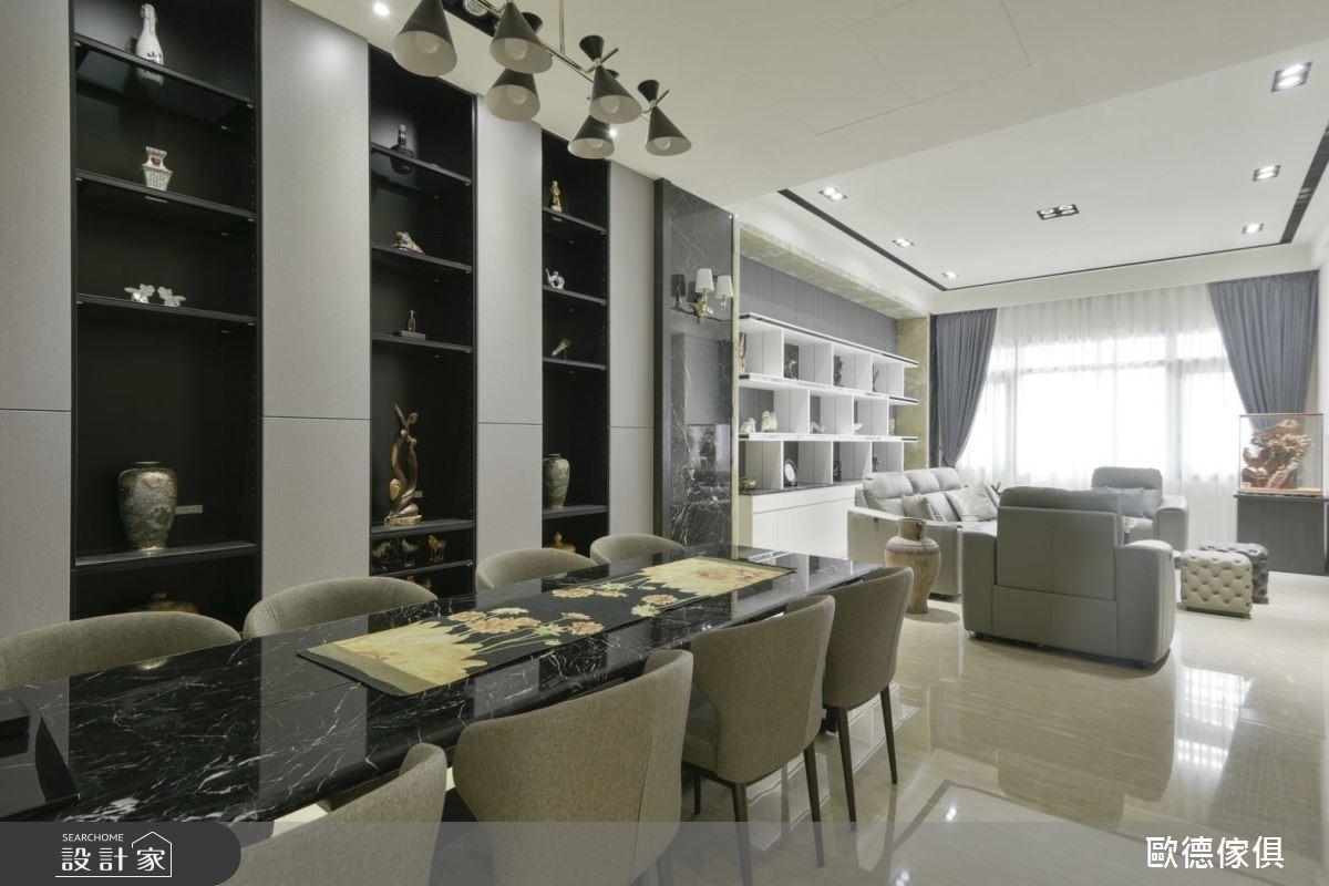 100坪新成屋(5年以下)_現代風餐廳案例圖片_台灣歐德傢俱股份有限公司_歐德_74之5