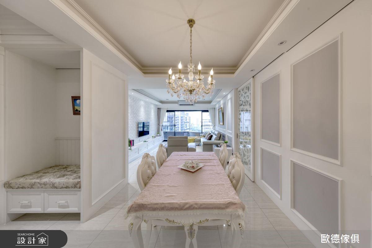 68坪新成屋(5年以下)_新古典餐廳案例圖片_台灣歐德傢俱股份有限公司_歐德_75之3