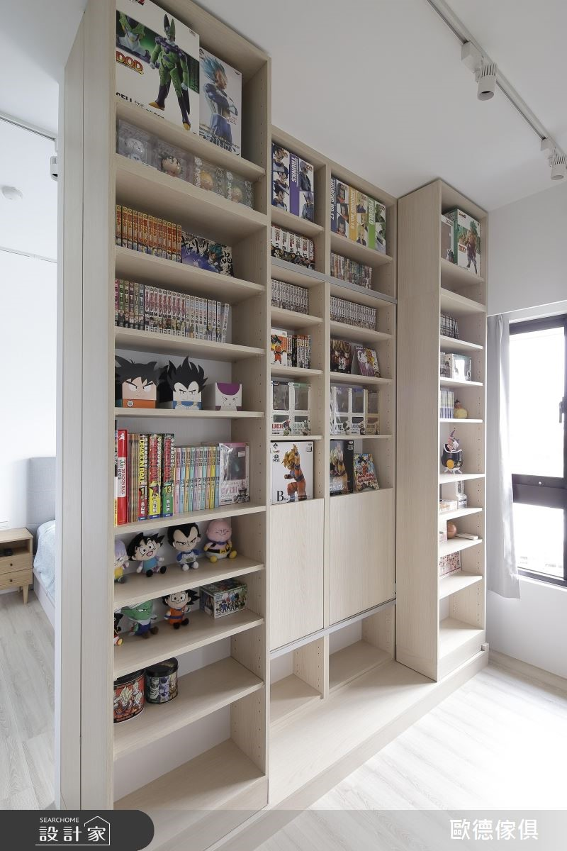 32坪新成屋(5年以下)_北歐風書房案例圖片_台灣歐德傢俱股份有限公司_歐德_77之10