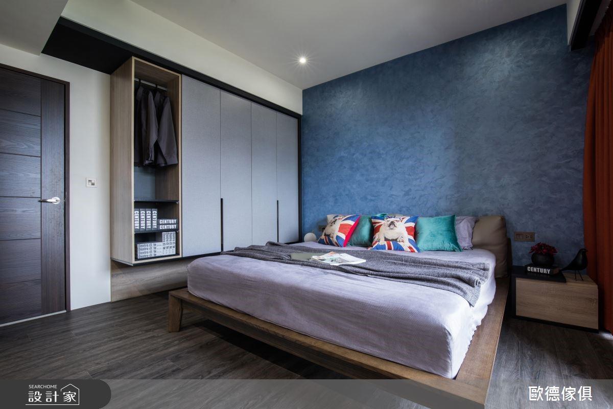 39坪新成屋(5年以下)_工業風臥室案例圖片_台灣歐德傢俱股份有限公司_歐德_78之11