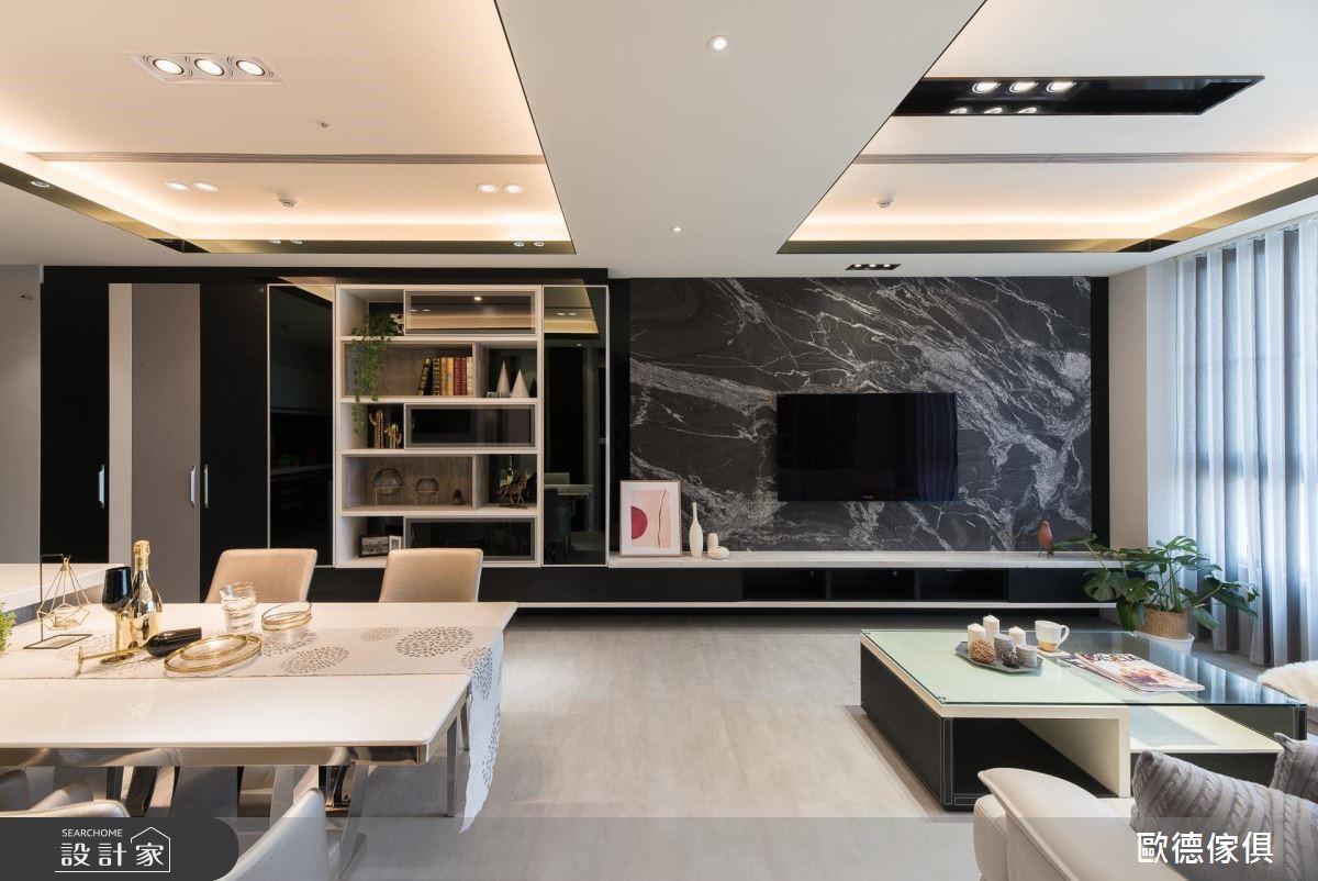28坪新成屋(5年以下)_現代風案例圖片_台灣歐德傢俱股份有限公司_歐德_79之4