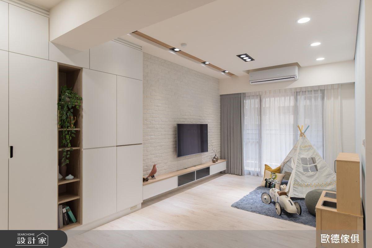 21坪新成屋(5年以下)_北歐風客廳案例圖片_台灣歐德傢俱股份有限公司_歐德_80之4