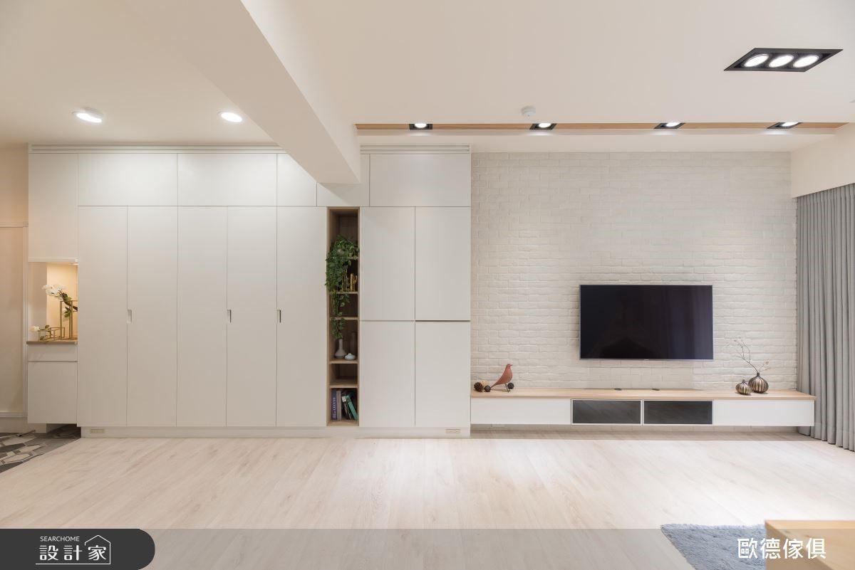 21坪新成屋(5年以下)_北歐風客廳案例圖片_台灣歐德傢俱股份有限公司_歐德_80之2
