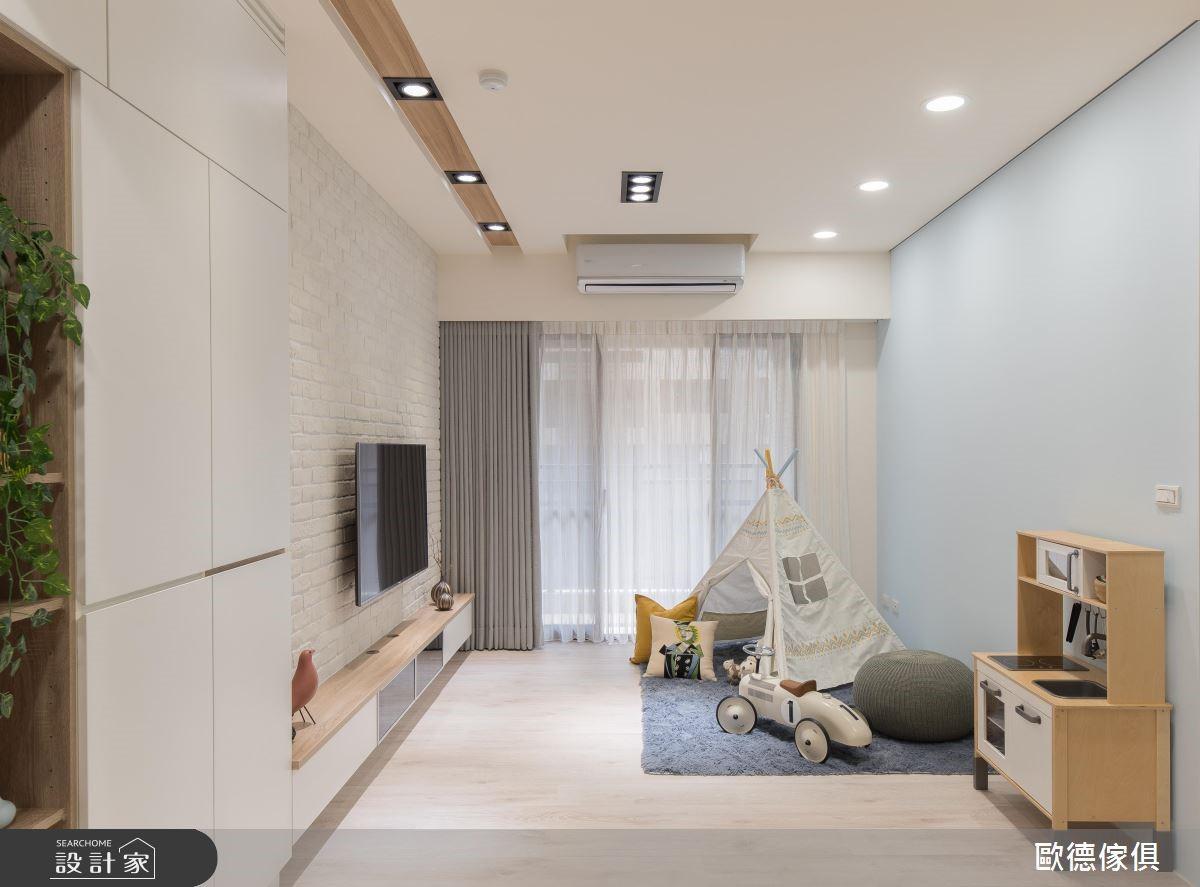 21坪新成屋(5年以下)_北歐風客廳案例圖片_台灣歐德傢俱股份有限公司_歐德_80之3