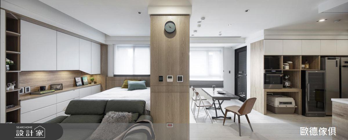 15坪新成屋(5年以下)_現代風客廳案例圖片_台灣歐德傢俱股份有限公司_歐德_83之4