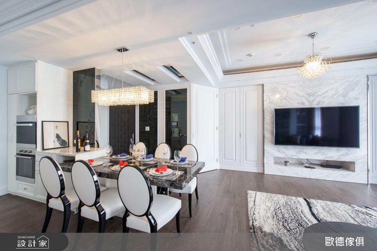 32坪新成屋(5年以下)_混搭風餐廳案例圖片_台灣歐德傢俱股份有限公司_歐德_86之4