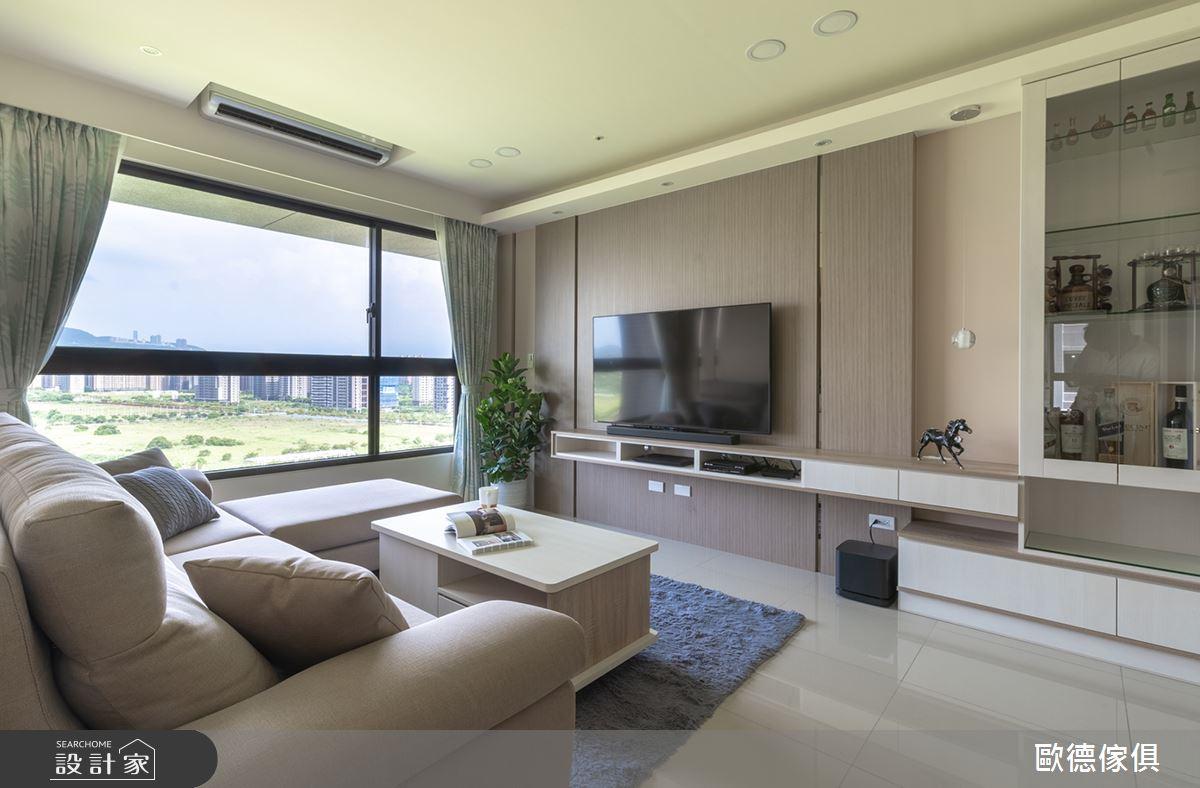 30坪新成屋(5年以下)_現代風客廳案例圖片_台灣歐德傢俱股份有限公司_歐德_95之2