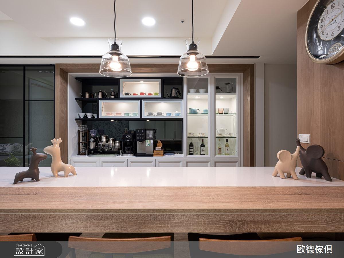26坪新成屋(5年以下)_混搭風餐廳案例圖片_台灣歐德傢俱股份有限公司_歐德_96之3